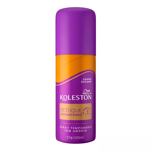 Spray Retoque de Raiz Koleston 100ml Louro Escuro