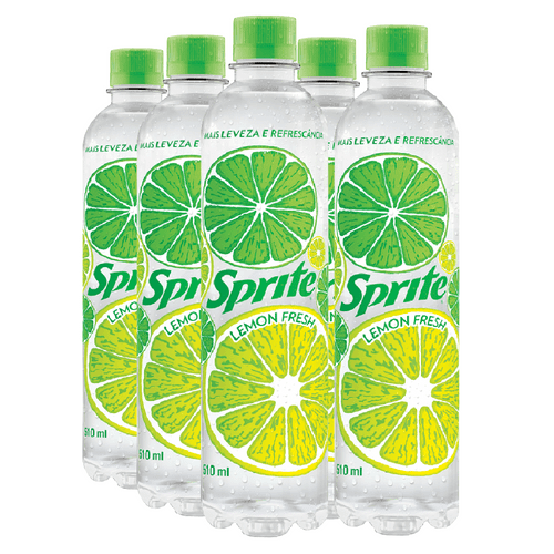 Sprite Lemon Fresh 510ml (Pack 6 Unidades)
