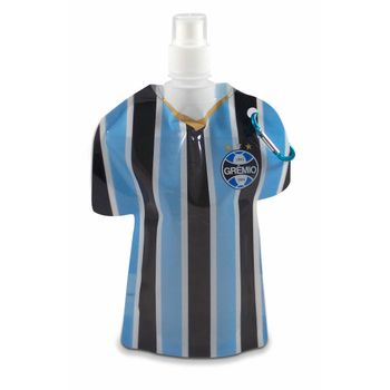 Squeeze Flexível Camisa 500ml Grêmio