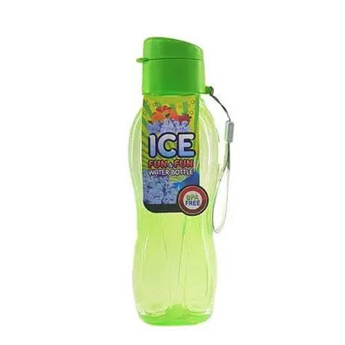 Squeeze Garrafa Agua Plastica Life Verde 600ml