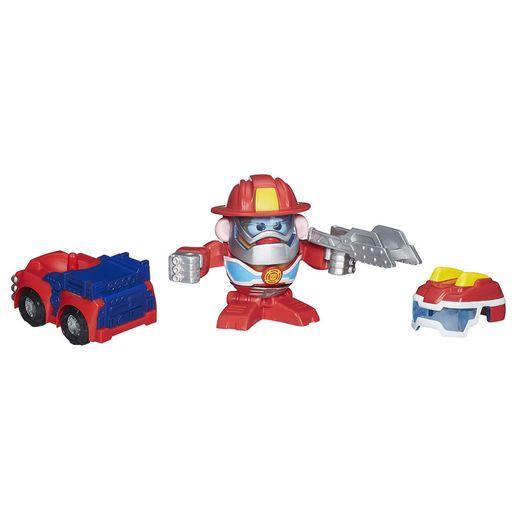 Sr Cabeça de Batata Transformers Bombeiro - Hasbro