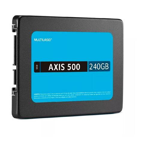 Ssd 240gb Axis 500 Ss200 Multilaser