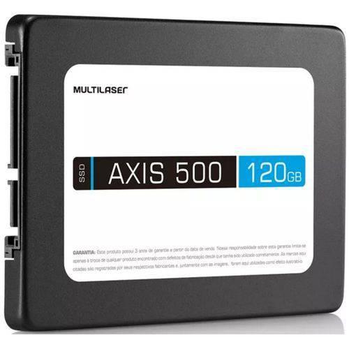 SSD - 2,5pol / SATA3 - 120GB - Multilaser Axis 500 - SS100