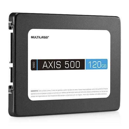 Ssd Axis 500 Multilaser Ss100 120gb Sata Iii 2,5 Polegadas