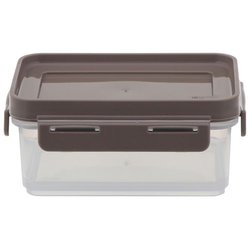 Stackable Pote Hermético 250 Ml Branco Translucido/argila