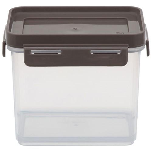 Stackable Pote Hermético 600 Ml Branco Translucido/argila