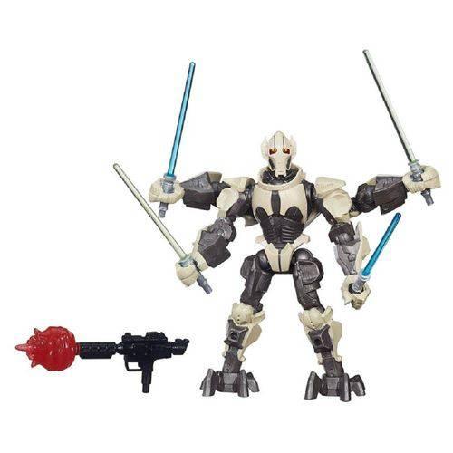 Star Wars - Boneco Hero Mashers Deluxe Ep.Vii - General Grievous B3669