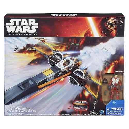 Star Wars Class Iii Luxo Episódio Vii X-wing Fighter Hasbro