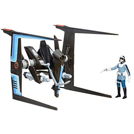 Star Wars EP VIII Veículo Classe B com Figura Polícia Canto Bight - Hasbro Star Wars EP VIII Veículo Classe B com Figura Polícia Canto Bight - Hasbro