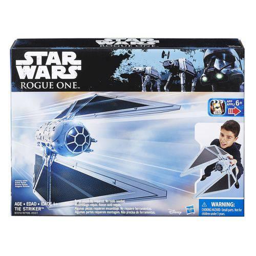 Star Wars Veículo Value S1 Tie Striker - B7106 - Hasbro