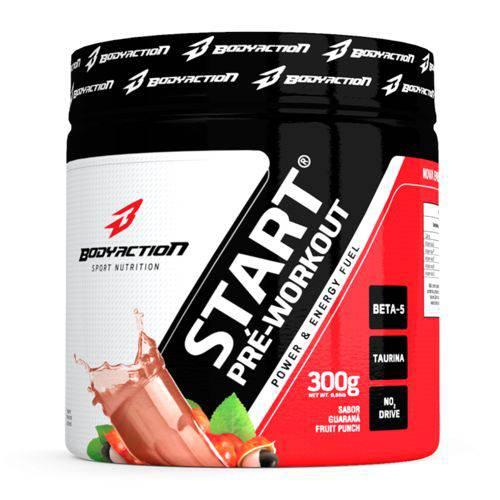 Start Pré Workout 300g Guarana - Body Action