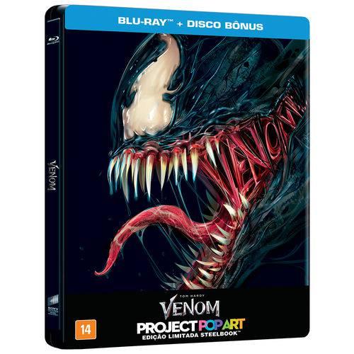SteelBook - Blu-Ray Duplo - Venom