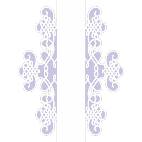Stencil 15x20 OPA 2519 Negativo Moldura Arabesco II