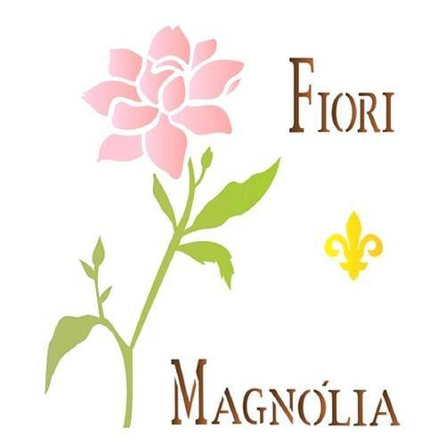 Stencil de Acetato para Pintura Opa 20 X 25 Cm - 1446 Magnolia