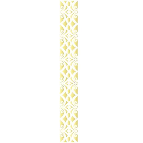 Stencil de Acetato para Pintura Opa Simples 04 X 30 Cm - 2520 Arabesco Colonial Ii