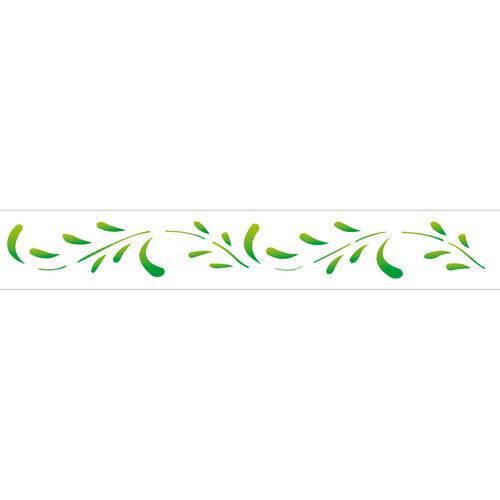Stencil de Plástico para Pintura Opa 04 X 30 Cm - 193 Folhas Ii