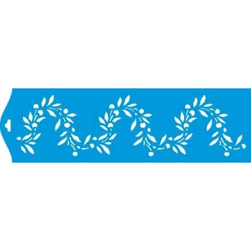 Stencil Epoca Arabesco 8,4x28,5 Ste010 Litoarte 8.4x28.5