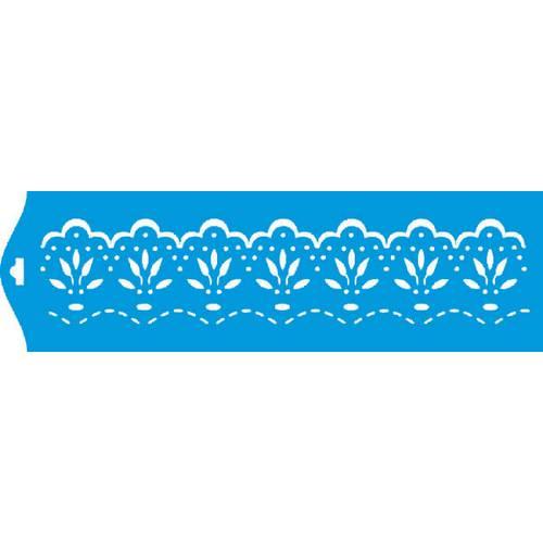 Stencil Epoca Arabesco 8,4x28,5 Ste095 Litoarte