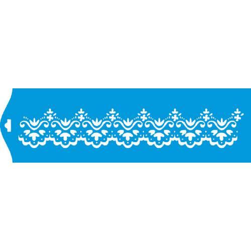 Stencil Epoca Arabesco 8,4x28,5 Ste098 Litoarte
