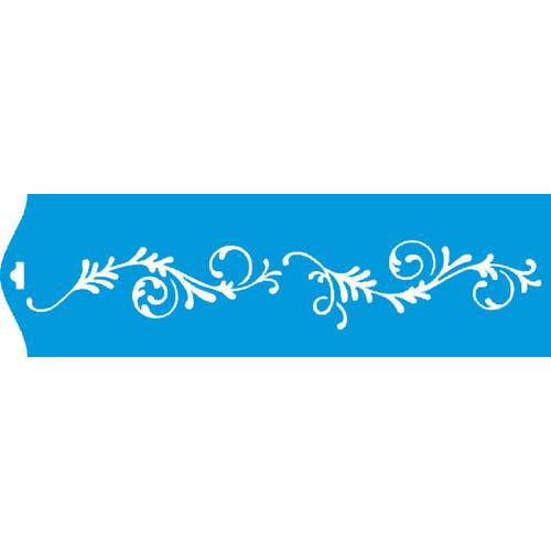 Stencil Epoca Arabesco 8,4x28,5 Ste101 Litoarte 8.4x28.5