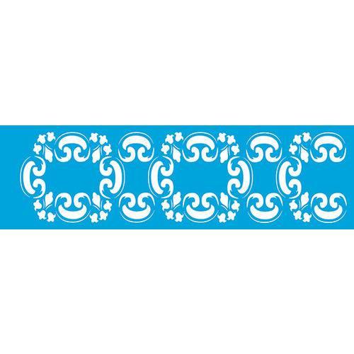 Stencil Epoca Arabesco 8,4x28,5 STE216 Litoarte
