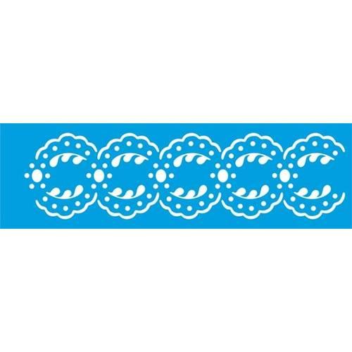 Stencil Epoca Arabesco 8,4x28,5 Ste129 Litoarte
