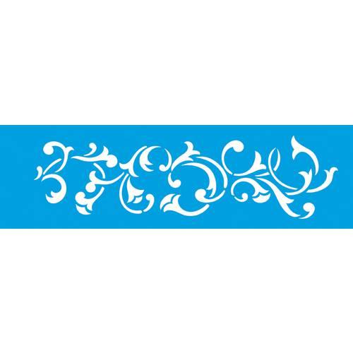 Stencil Epoca Arabesco 8,4x28,5 Ste191 Litoarte