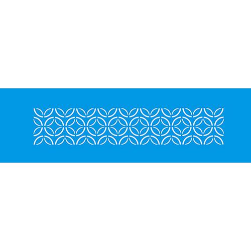 Stencil Epoca Arabesco 8,4x28,5 Ste242 Litoarte