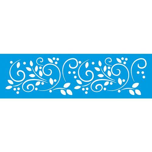 Stencil Epoca Arabesco 8,4x28,5 Ste229 Litoarte