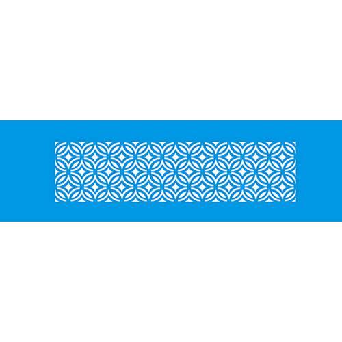 Stencil Epoca Arabescos 8,4x28,5 Ste243 Litoarte 8.4x28.5