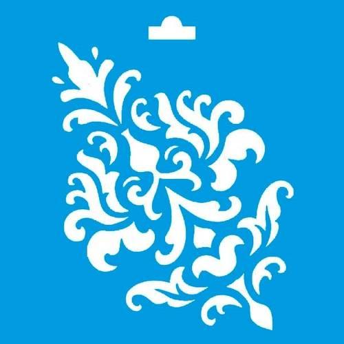 Stencil Especial Arabesco 10X10 STX-046 Litoarte