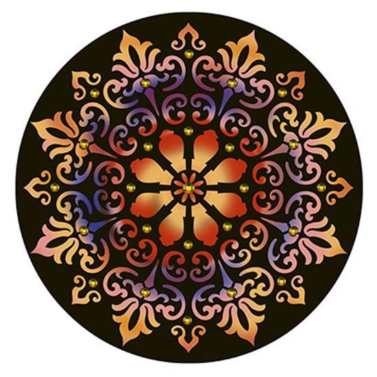 Stencil Litoarte 30x30 STQG-006 Mandala