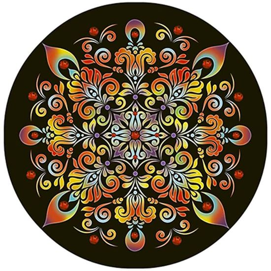 Stencil Litoarte 30x30 STQG-009 Mandala