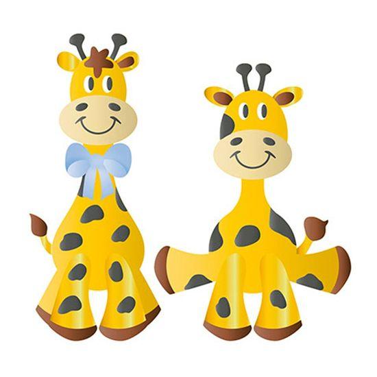Stencil Litoarte 34,4x21 ST-196 Girafas