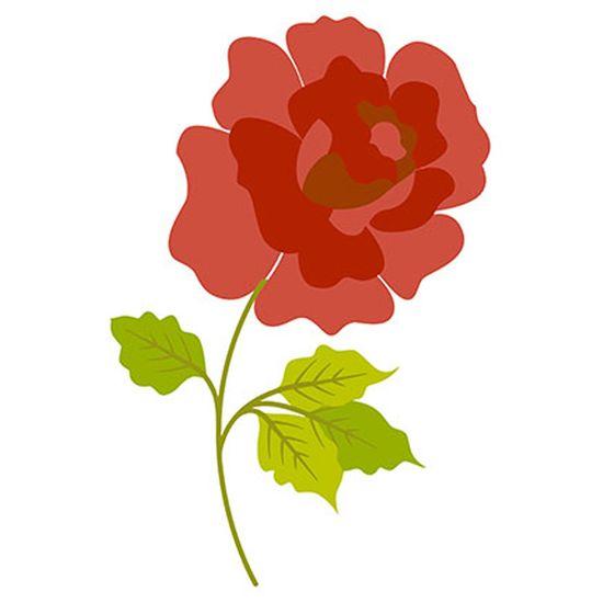 Stencil Litoarte 34,4x21 ST1-002 Rosa