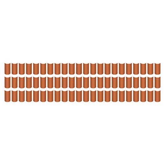 Stencil Litoarte 8,4x28,5 STE-056 Telhas