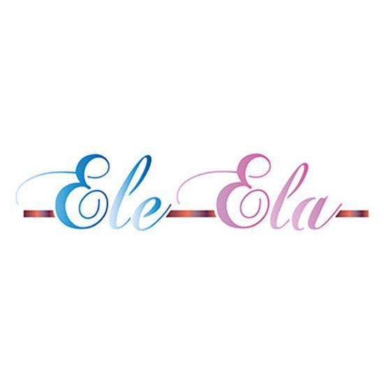 Stencil Litoarte 8,4x28,5 STE-333 Ele Ela