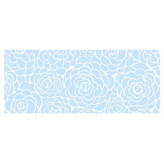 Stencil Litoarte Confeitaria 38x15 SC5-004 Rosas