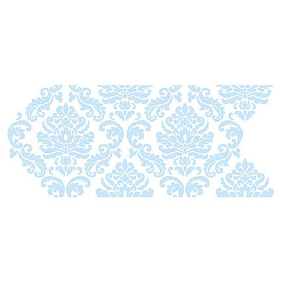 Stencil Litoarte Confeitaria 38x15 SC5-006 Arabesco Realeza