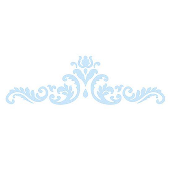 Stencil Litoarte Confeitaria 32x10 SC4-006 Arabesco Realeza