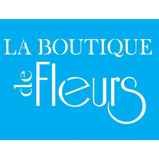 Stencil Litocart 20x15 LSM-011 La Boutique de Fleurs