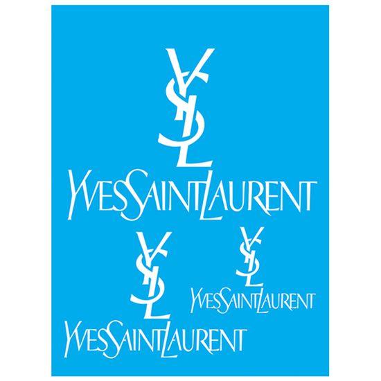 Stencil Litocart 20x15 LSM-132 Yves Saint Laurent