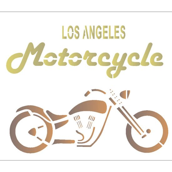 Stencil OPA 20x25 2070 Los Angeles
