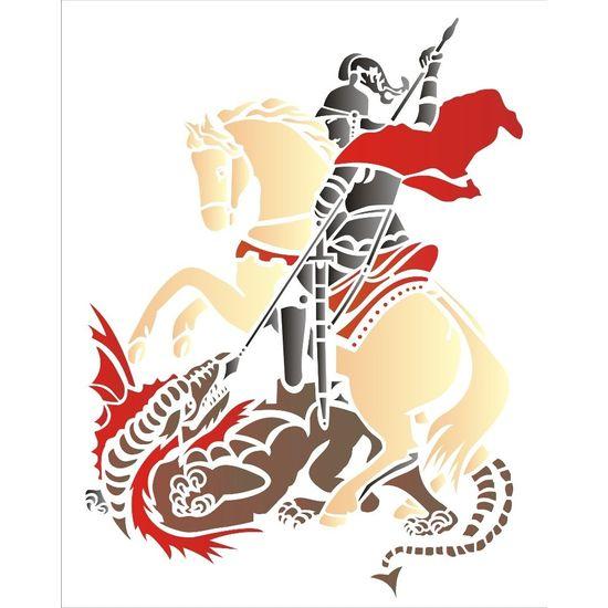 Stencil OPA 20x25 1335 São Jorge