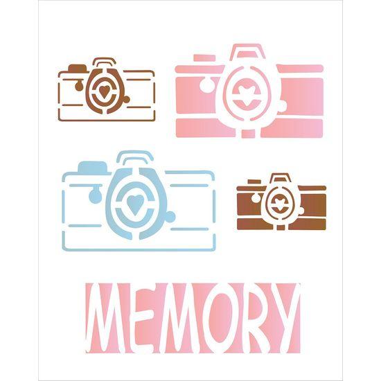 Stencil OPA 20x25 1765 Câmera Memory