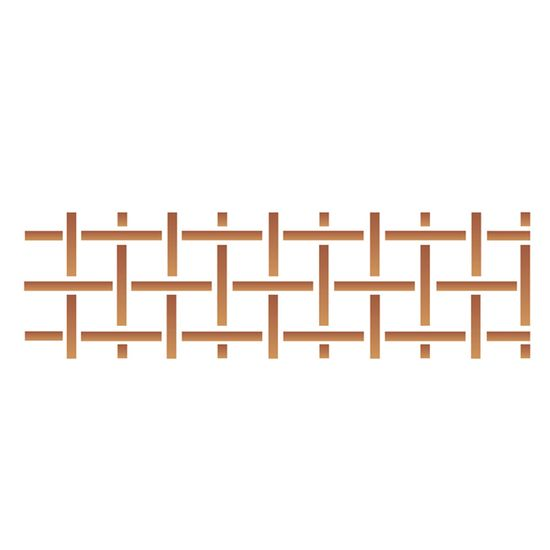 Stencil OPA 10x30 019 Estampa Xadrez