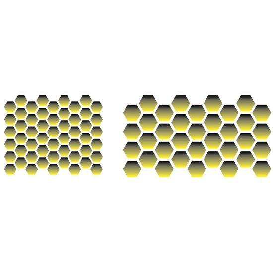 Stencil OPA 10x30 1477 Favos de Mel