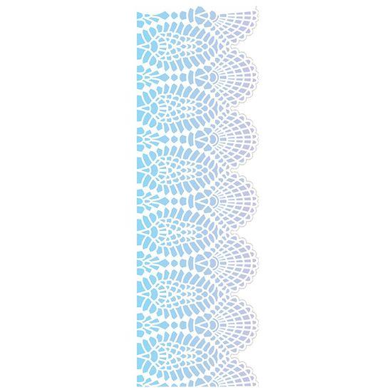 Stencil OPA 10x30 2618 Negativo Renda IV