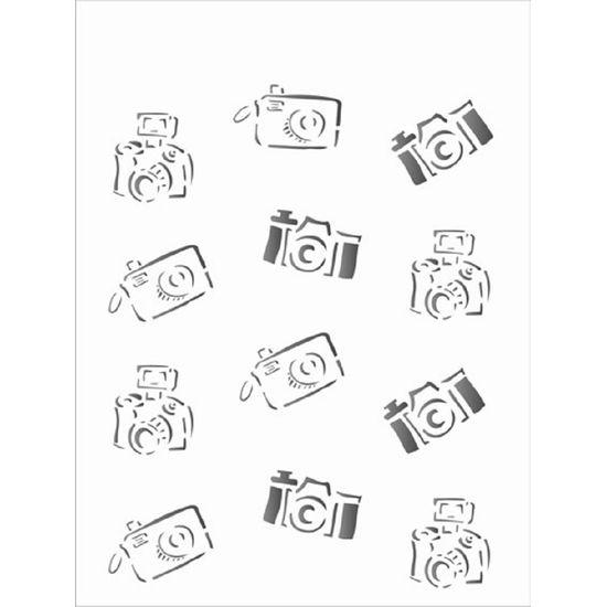 Stencil OPA 15x20 1211 Câmeras de Foto