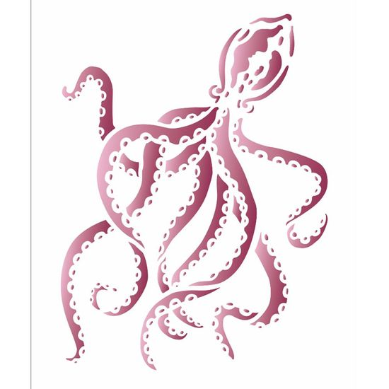 Stencil OPA 15x20 2574 Mar Polvo